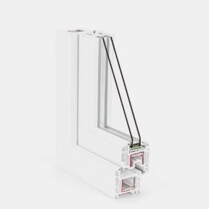 Ferestre PVC - Rehau Brillant Design - 5 - 6 camere