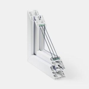 Ferestre PVC - Rehau GENEO - 6 camere