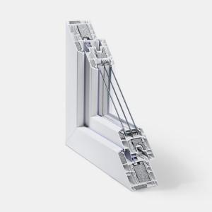 Ferestre PVC - Rehau Geneo PHZ - 6 camere